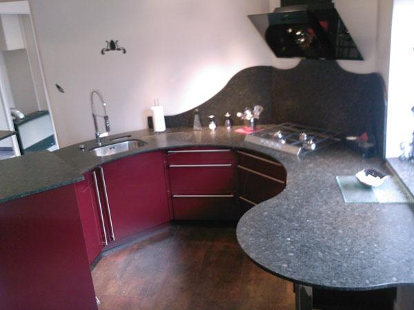 Plans de travail pour votre cuisine gammes de granit - Plaque de marbre pour cuisine ...