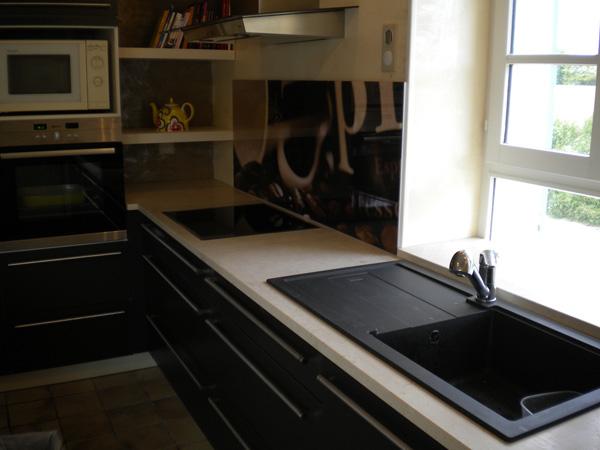 Plaque de marbre pour cuisine home design architecture for Plaque pour cuisine
